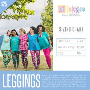 LuLaRoe Pants - LuLaRoe Leggings TC